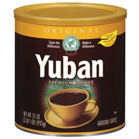 Yuban Original Ground Coffee 33 Oz Walmart Com