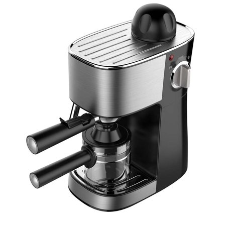 Powerful steam Espresso and Cappuccino Maker Barista Express Machine Black - Make European