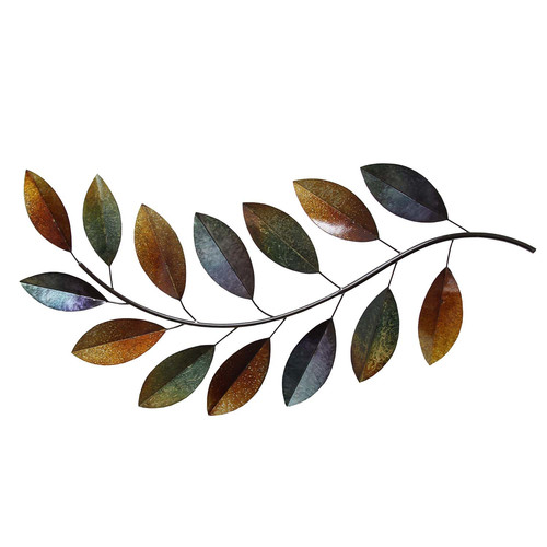 Stratton Home Decor Metal Leaves Wall D cor