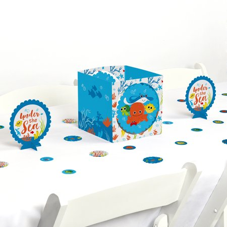 Under The Sea Critters - Birthday Party or Baby Shower Centerpiece & Table Decoration Kit (Under The Sea Baby Shower Decorations)