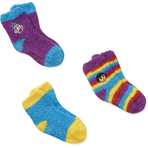 Baby Toddler Girl Socks, 3-Pack