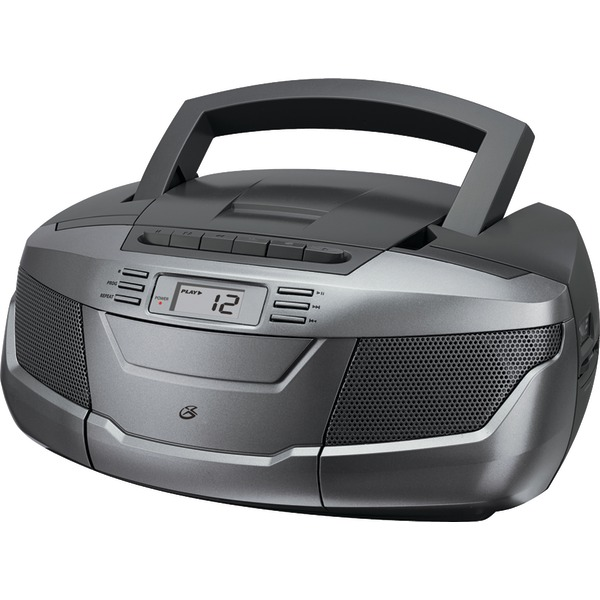 GPX CD BOOMBOX AM/FM W CASS