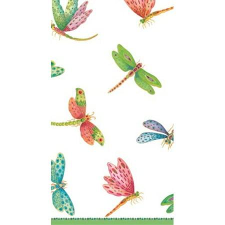 Entertaining with Caspari Dragonflies Paper Guest Towels, Pack of 15 Caspari Guest Towels