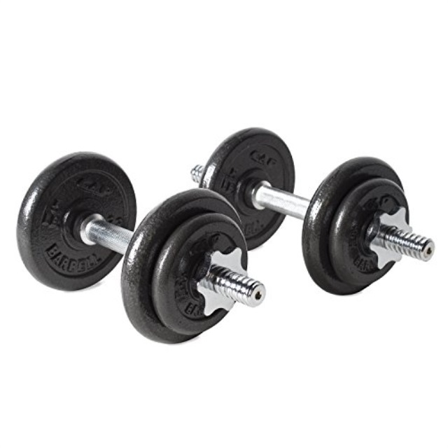 CAP Barbell 40-pound Adjustable Dumbbell Set with Case Fast Shipment Hot Sale