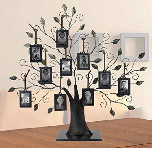 Large Family Tree With 10 Hanging Photo Frames Walmartcom