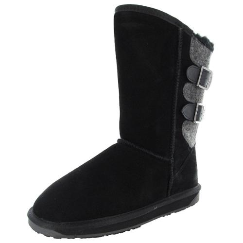 BooRoo Womens Kit Suede Winter Snow Boot Shoe by BooRoo