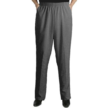 Viviana Women\'s Plus Size Elastic Waist Pull-On Shaped Fit Dress ...