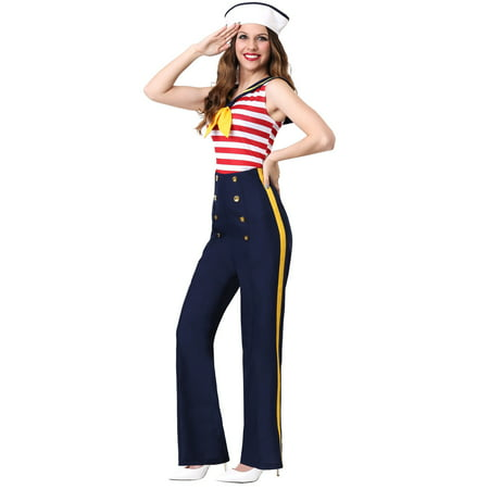 Women's Perfect Pin Up Sailor Costume - image 1 of 1
