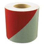 ORALITE 18851 Reflective Tape,3 in. W,Red/White