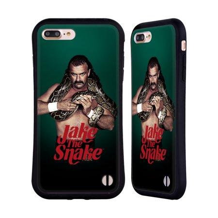 OFFICIAL WWE JAKE THE SNAKE ROBERTS HYBRID CASE FOR APPLE IPHONES (Snake Card Case)