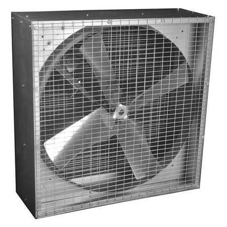 - Exhaust Fan, 36In, Belt Drive Less Motor DAYTON 44YU10