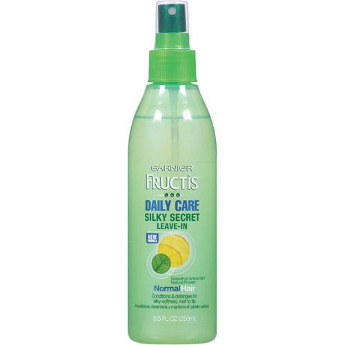 Garnier Fructis Silky Secret Leave-In Daily Care, 8.5 oz