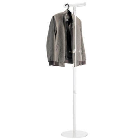 ALCO 2808 ALCO Acro Acrylic Coat Stand for Coat Hangers with Two Pegs - image 1 of 1