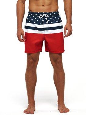 Men's Quick Dry Swim Shorts Drawstring Beach Trunks Swimsuits Swimwear Beachwear Casual Shorts Boardshorts Summer Pool