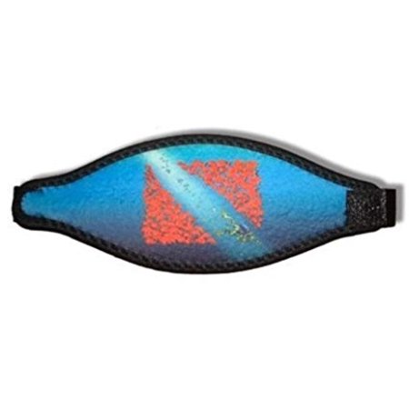 NewWalmartfortable 5mm Neoprene Adjust-A-Strap for Your Scuba Diving & Snorkeling Mask - Dive Flag with Frog (Amphibious Outfitters), UnbeatableWalmartfort, style and.., By Innovative Scuba Concepts