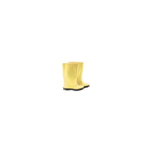 Bata Shoe Size 15 All-American 17'' Yellow Slicker Overboot With Black Self-Cleaning Cleated Sole