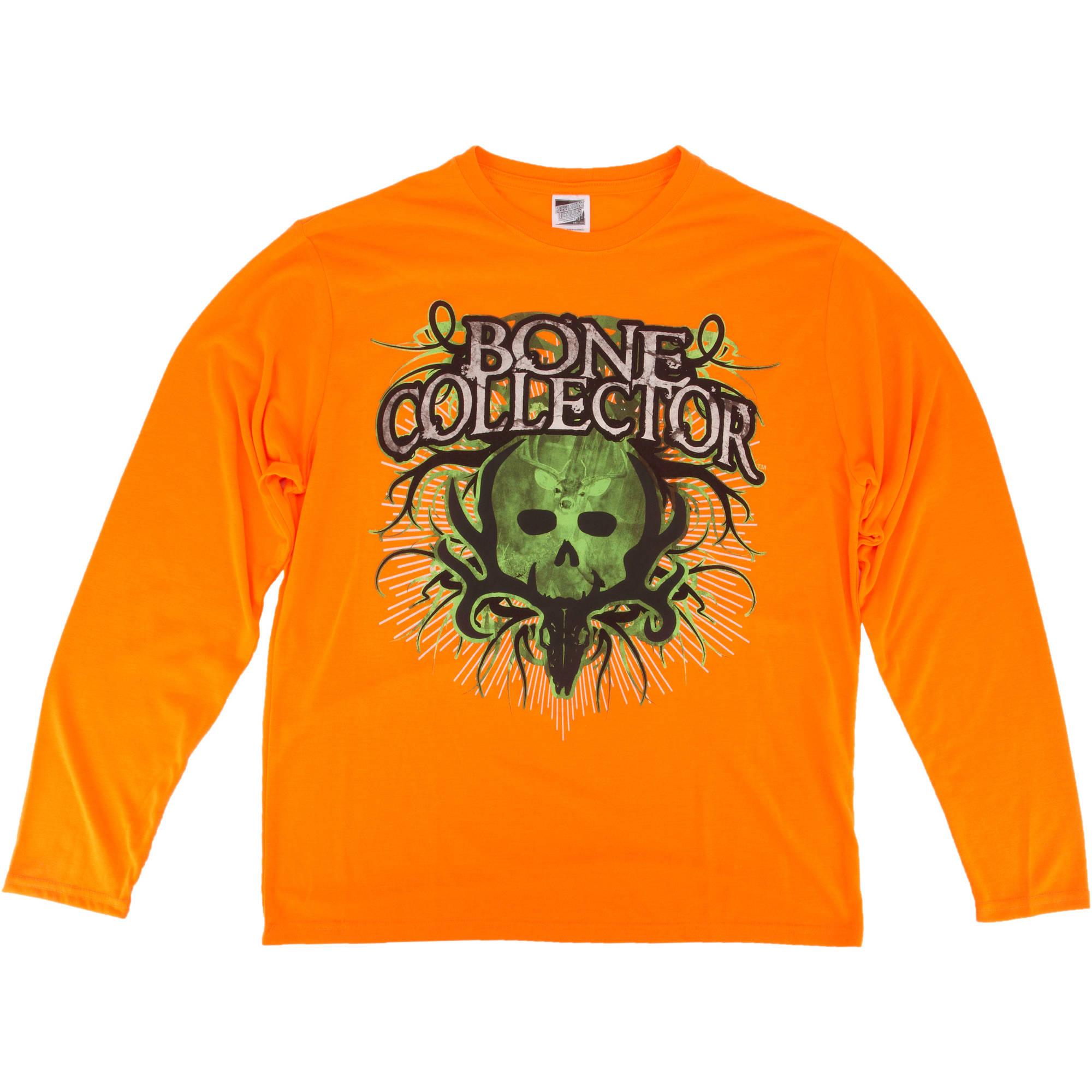 Bone Collector Men's Blaze Logo Tee-Shirt, Long Sleeve thumbnail