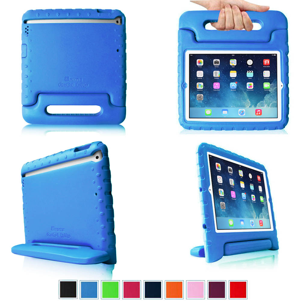 Fintie Apple iPad 2/ iPad 3/ iPad 4 Kiddie Case - Ultra Light Weight Shock Proof Kids Friendly Cover, Blue