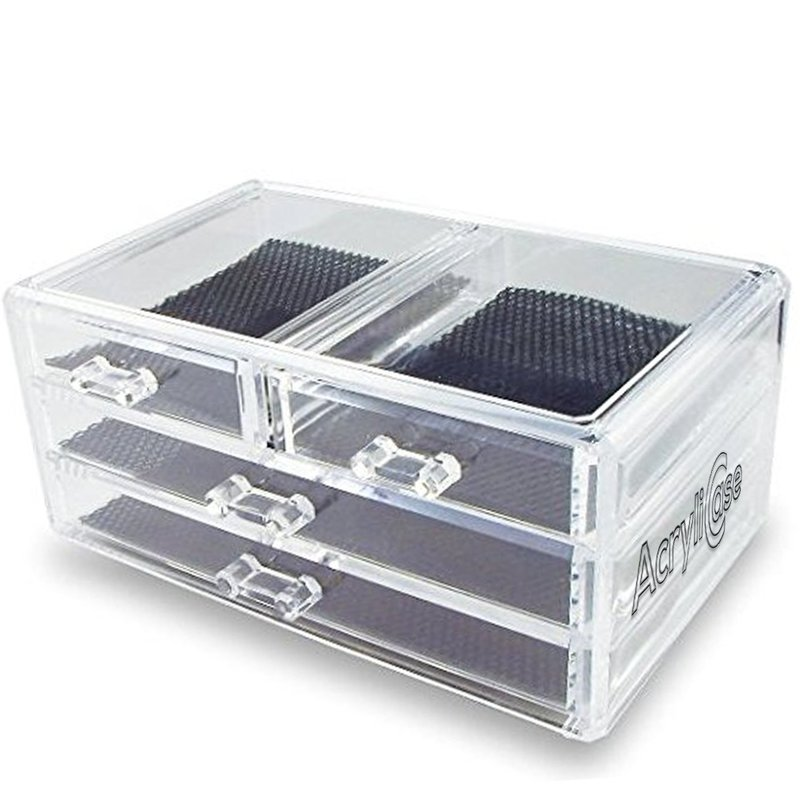 Acrylic Jewelry Organizer Arranges Makeup and Accessories 3