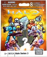 Mega Bloks Halo Series 3 Minifigure Mystery Pack by