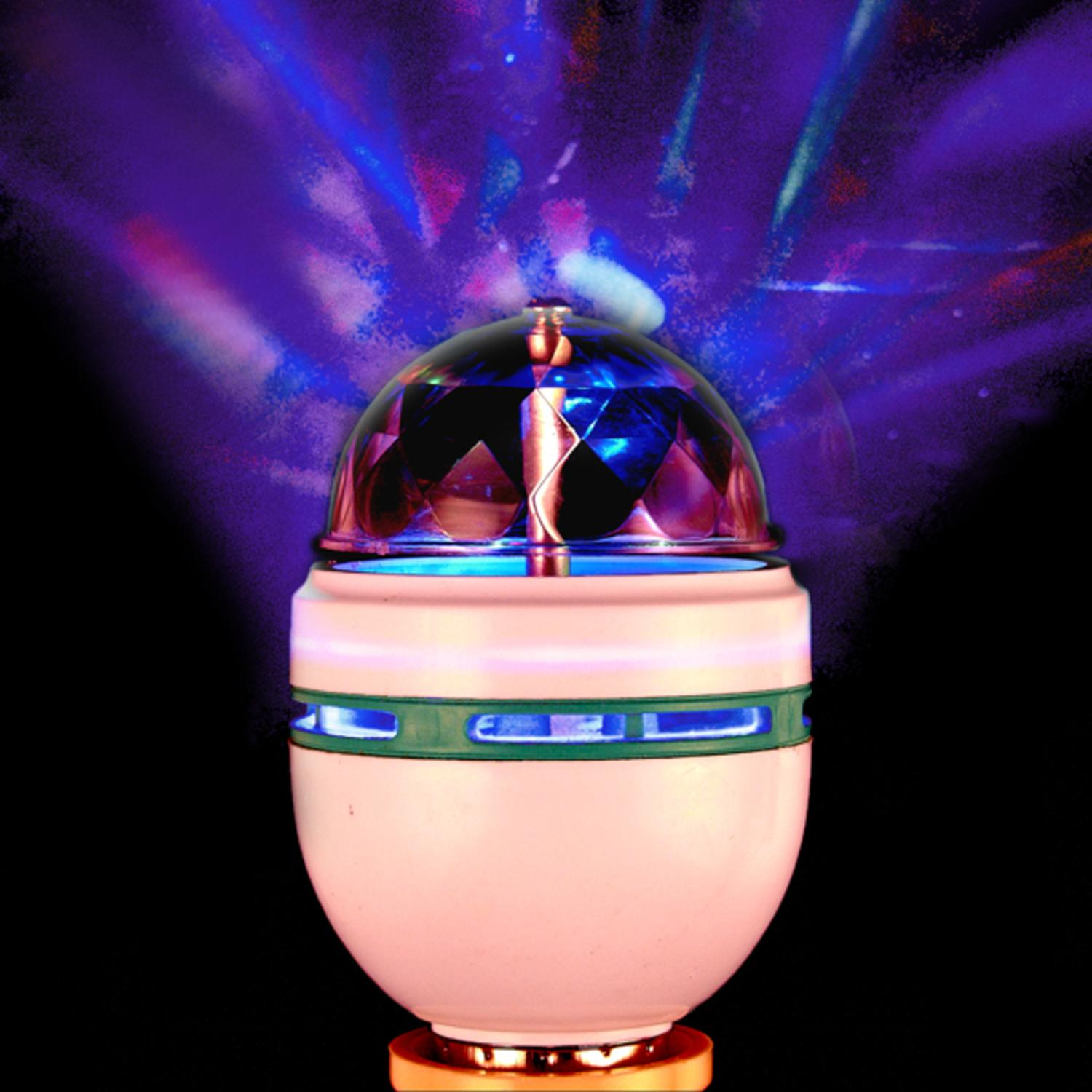 Full Color LED Rotating Disco Lamp