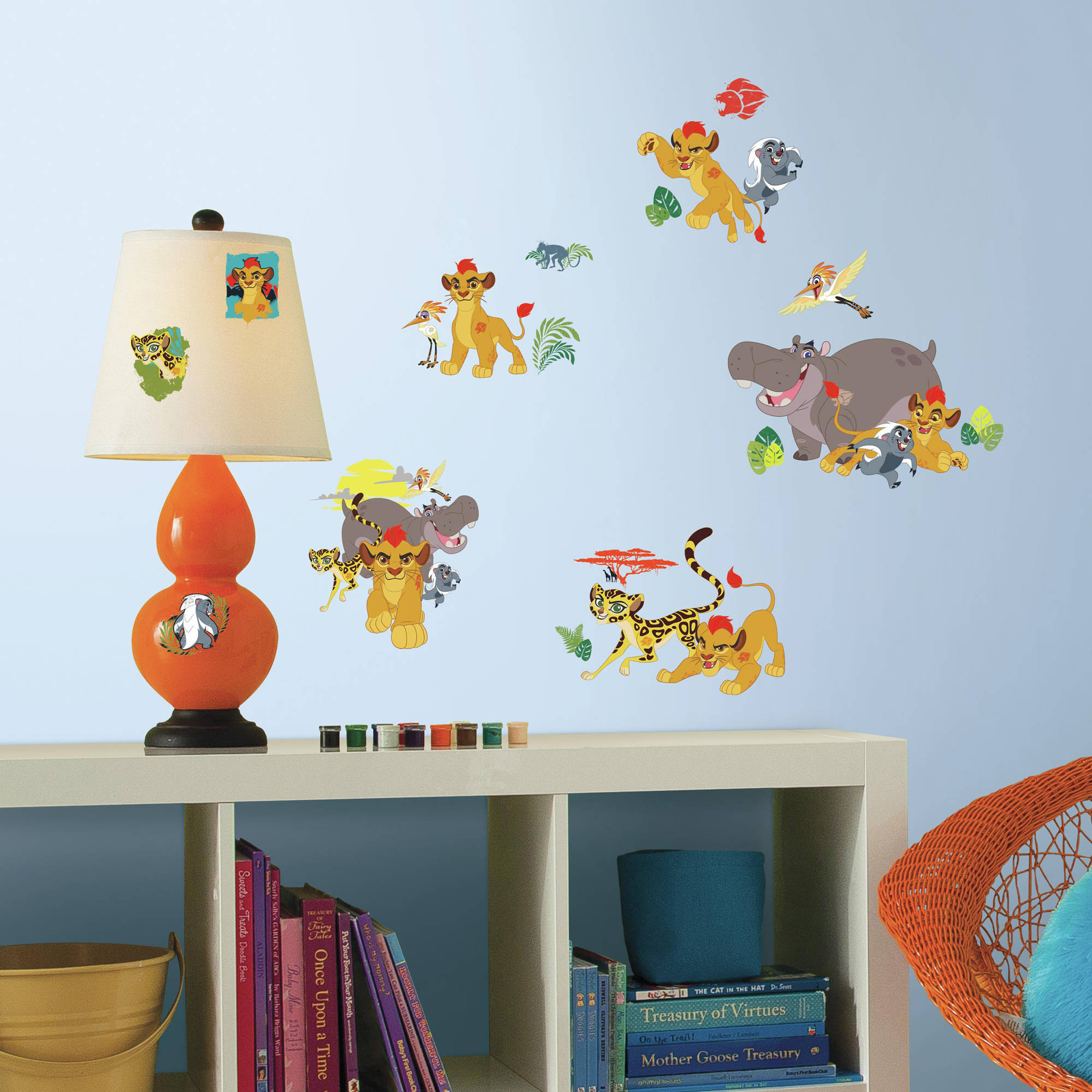 RoomMates Lion Guard Peel and Stick Wall Decals