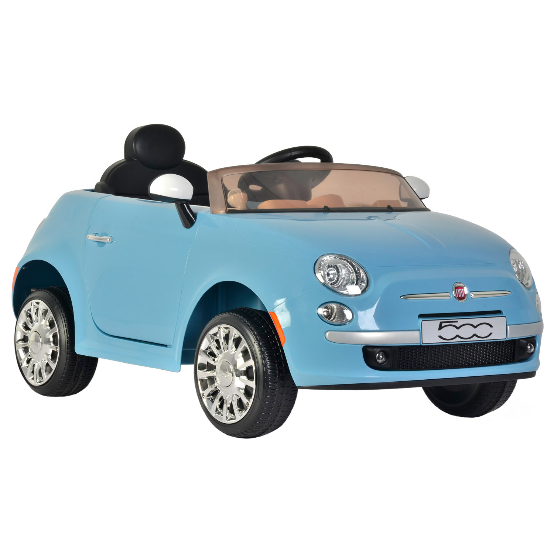 Kid Motorz Fiat 500 in Blue (6V)