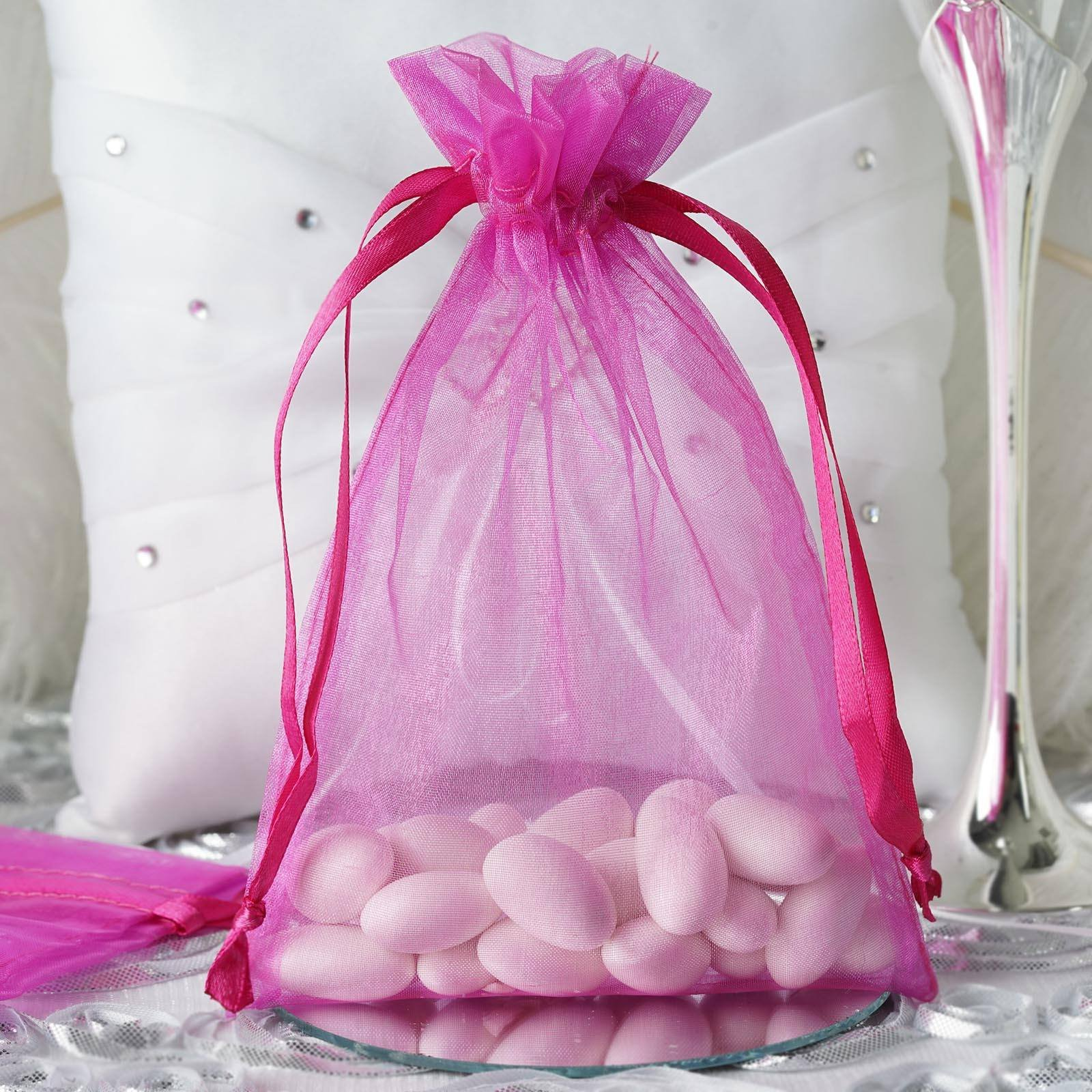 Wedding Gifts At Walmart: Efavormart 10PCS Organza Gift Bag Drawstring Pouch For