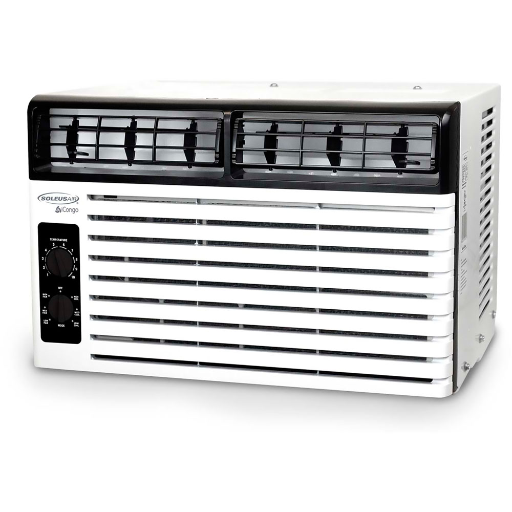 SoleusAir 5,000 BTU Window Air Conditioner with Mechanical Controls