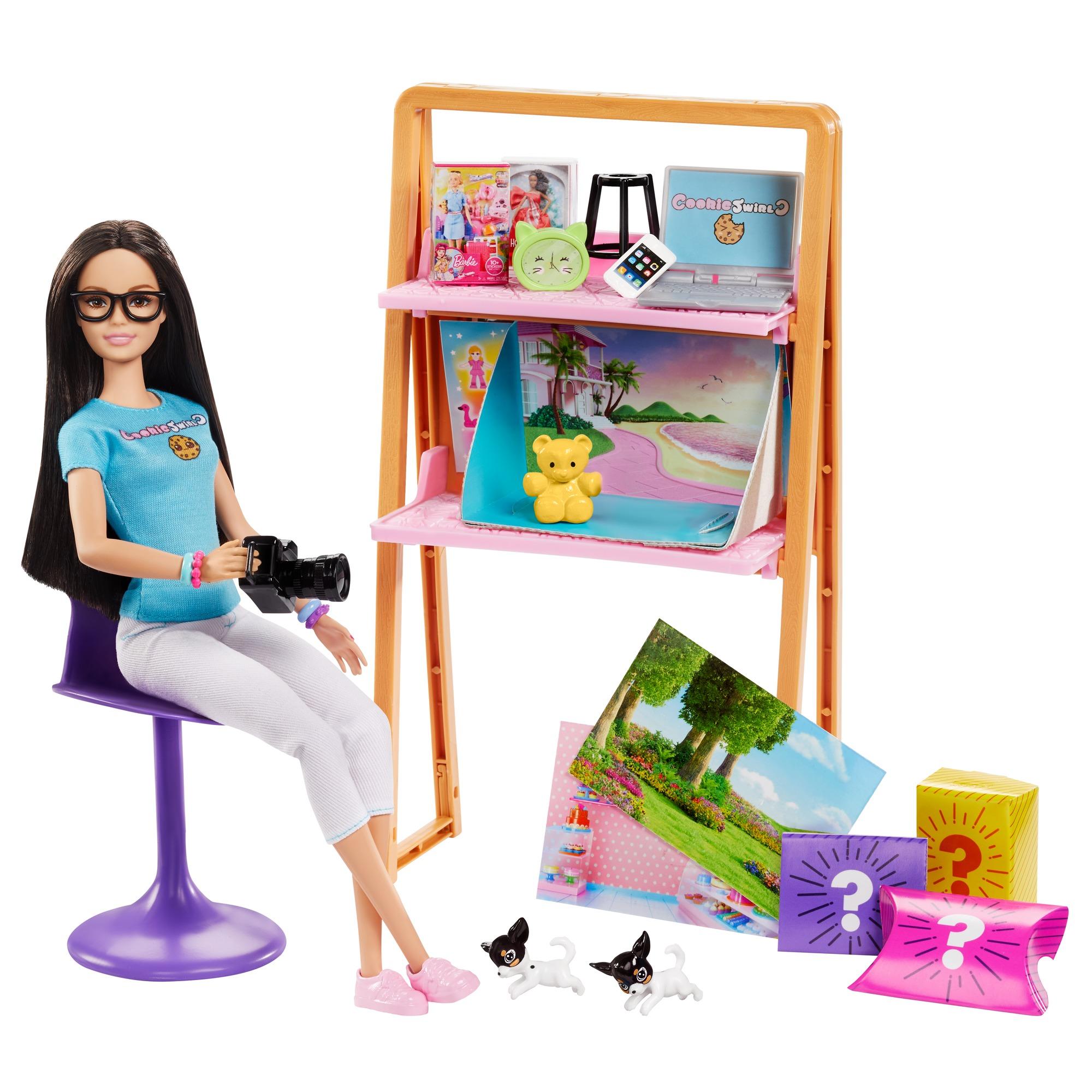 CookieSwirlC Barbie Doll and A...