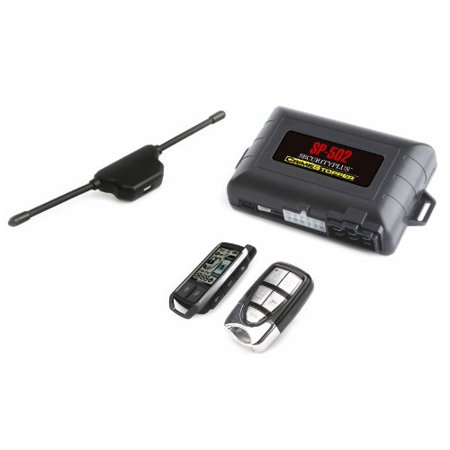 Cspi Sp-502 2-way Lcd Paging Combo Alarm, Keyless Entry & Remote Start System With Rechargeable