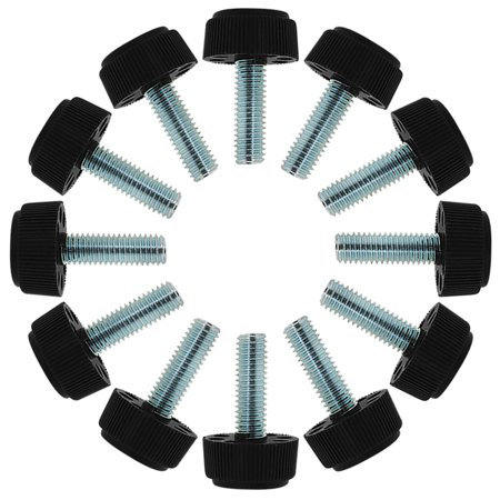 Cabinet Leg Levelers (M8 x 25 x 23mm Leveling Feet Adjustable Leveler for Furniture Cabinet Leg 12pcs )