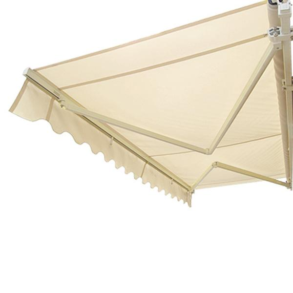 Zimtown Manual Outdoor Garden Patio Canopy Retractable Deck Awning Sunshade Shelter by