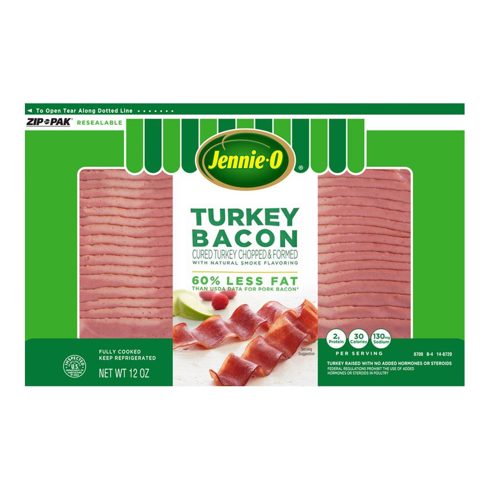 Jennie-O Turkey Bacon, 12 Oz.