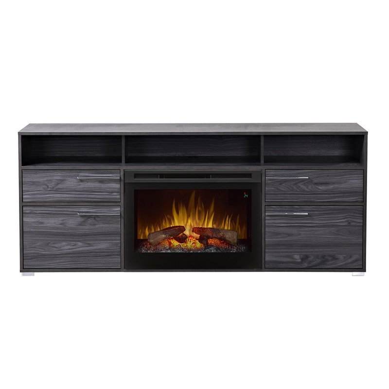 Dimplex Sander Electric Fireplace TV Stand Walmart
