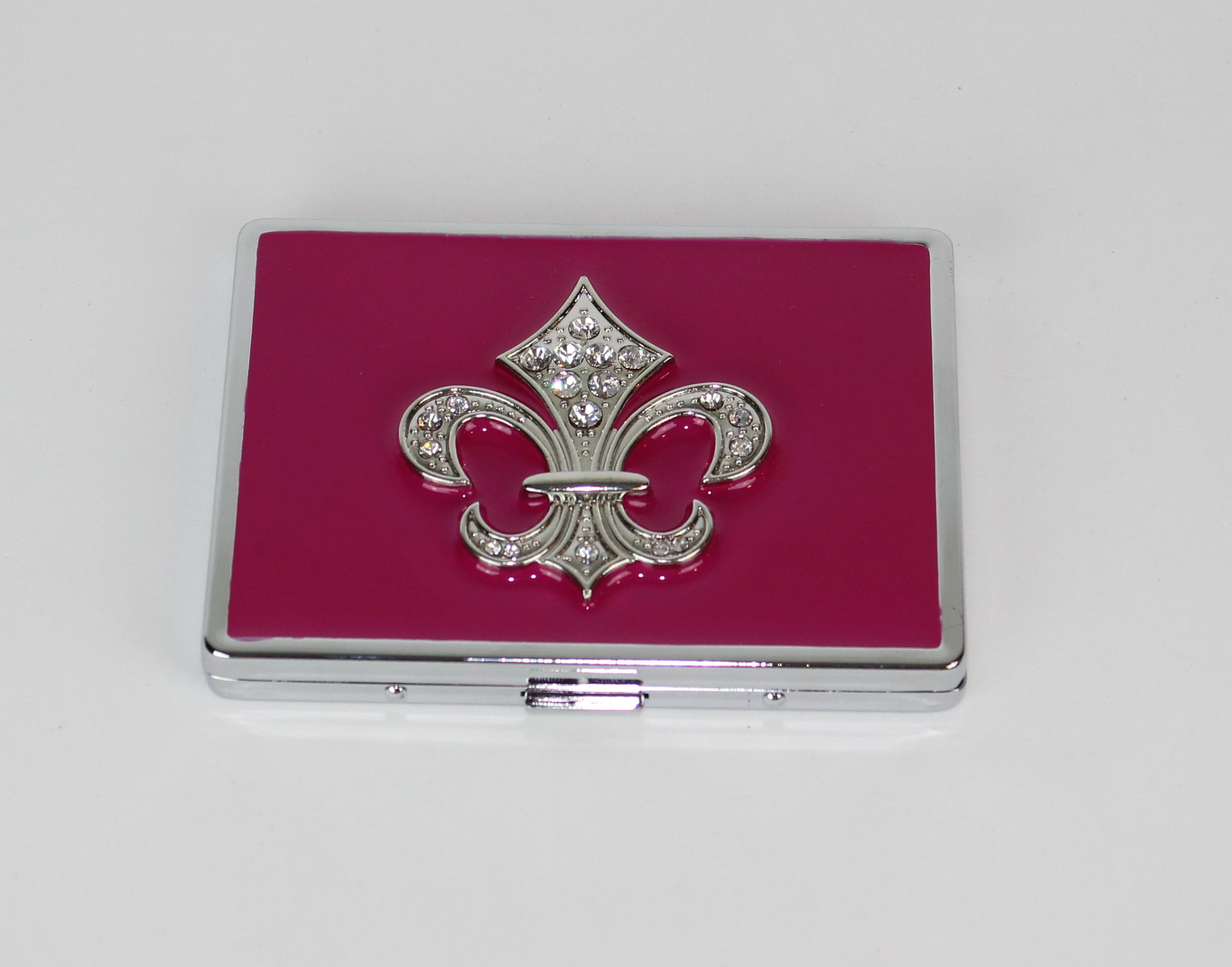 Fleur De Lis Womens Cigarette Case Business / ID / Credit Card ...