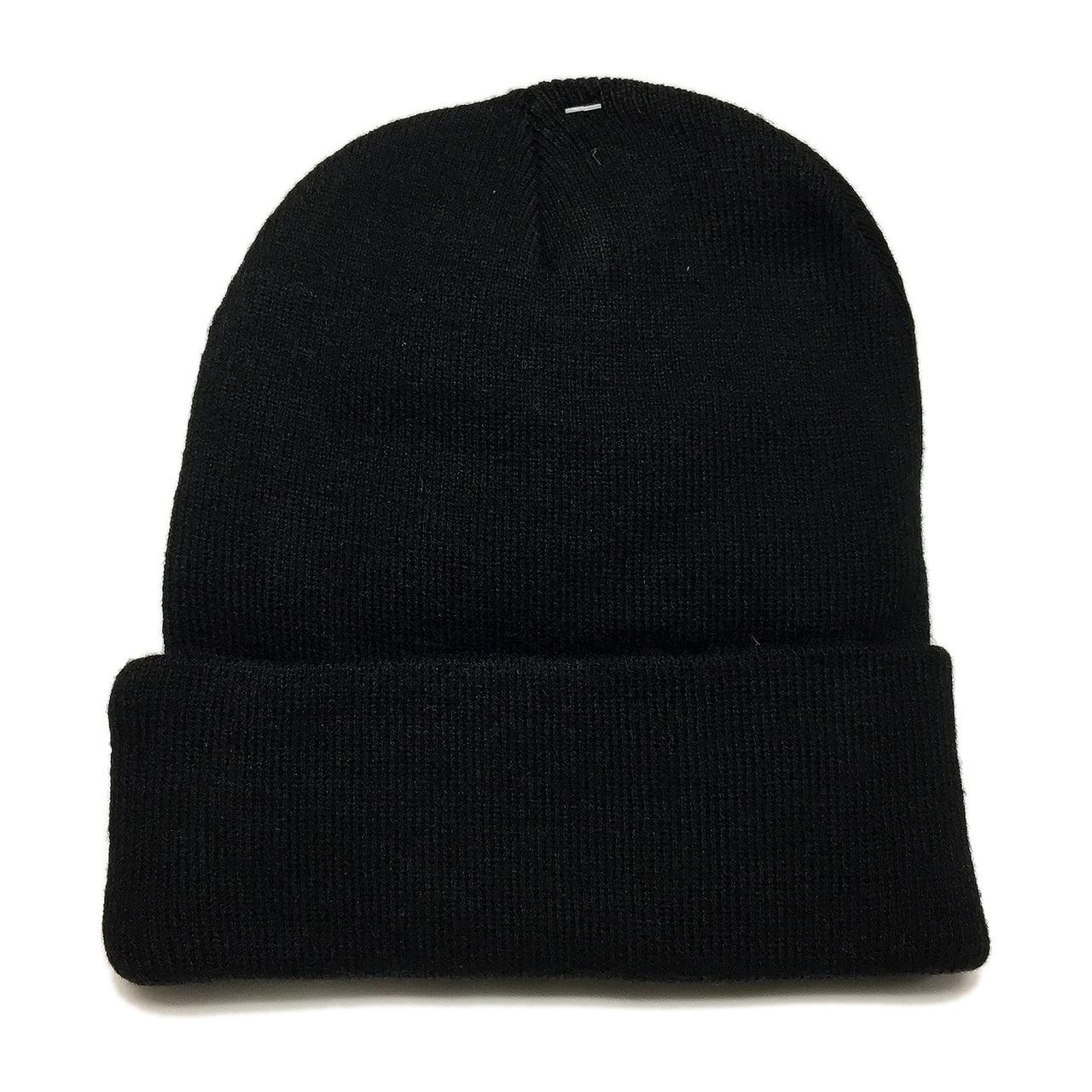U.S. Military U.S. ARMY 3RD INFANTRY DIVISION Black Knit Long Beanie Hat  Cap - Walmart.com 9e069c2b6e8