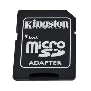 Kingston microSD to SD Adapter with Case