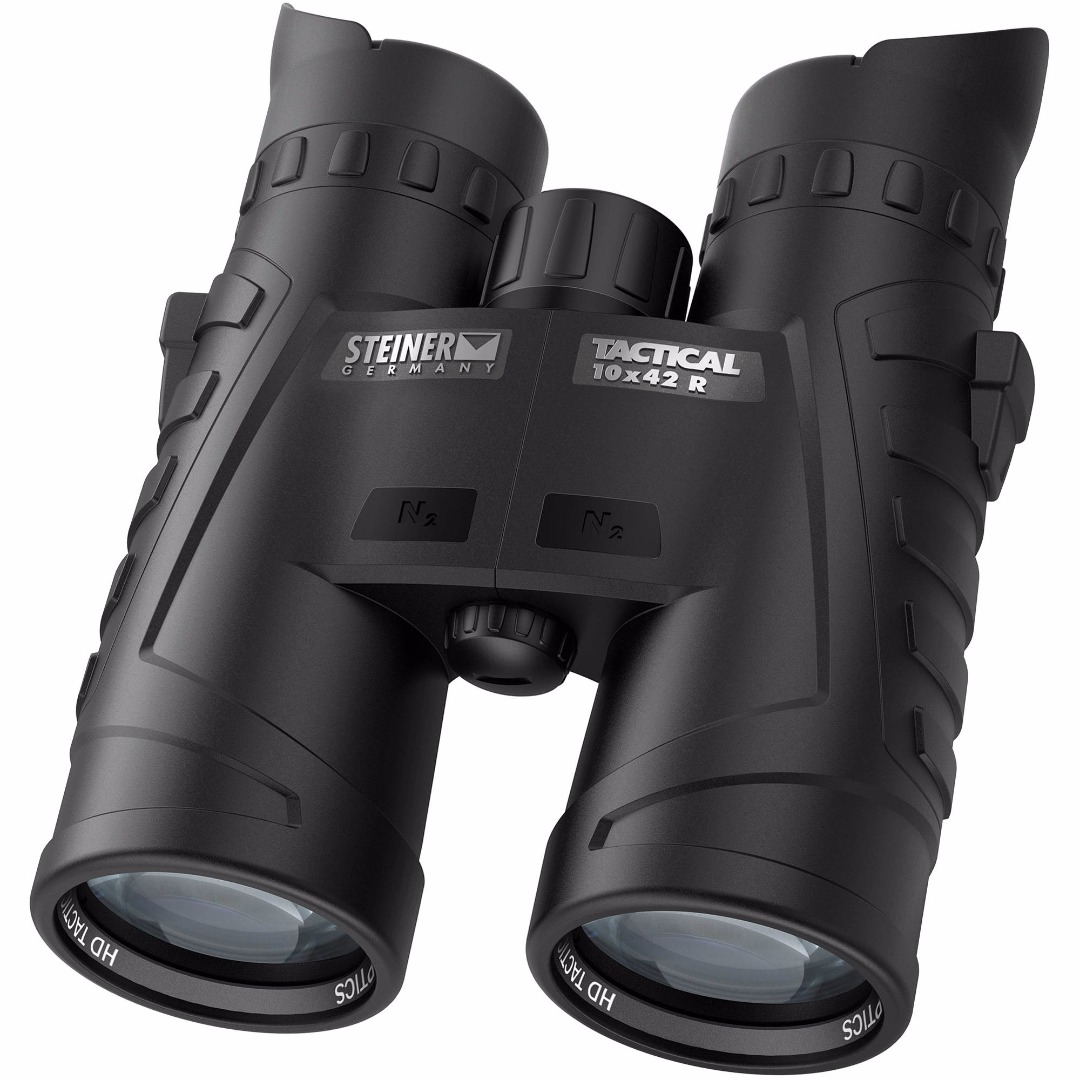 Steiner 10x42mm T1042 R Tactical Binoculars with SUMR Reticle (Black)