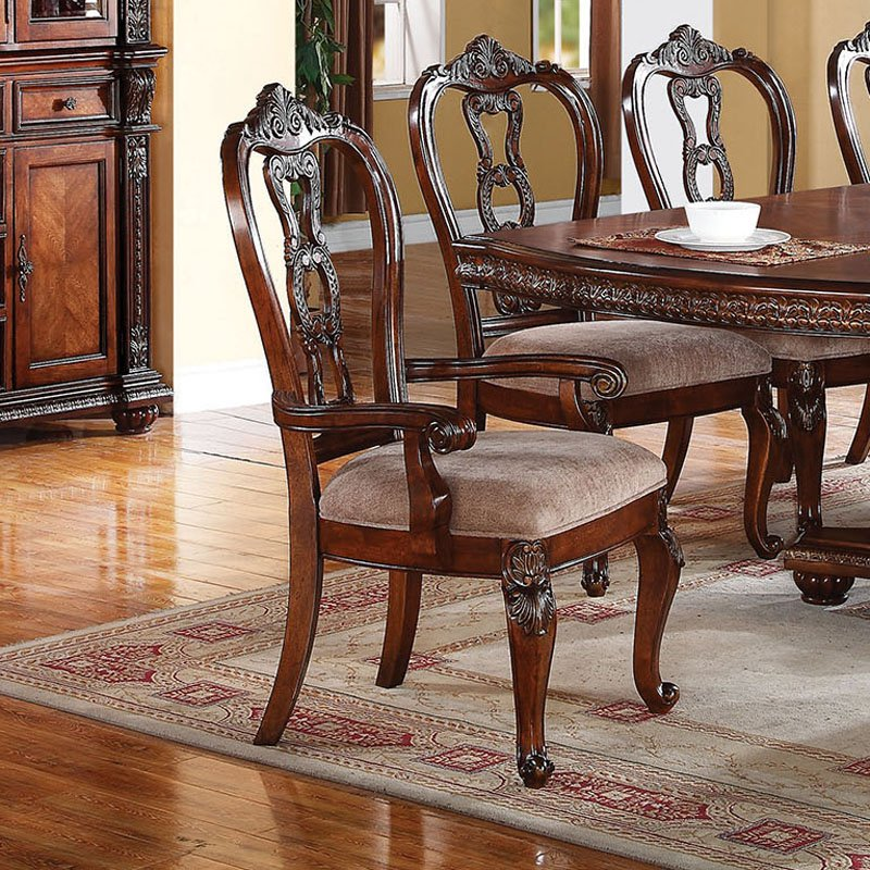 Acme Furniture Nathaneal Dining Armchairs Set of 2 by Acme Furniture Industry