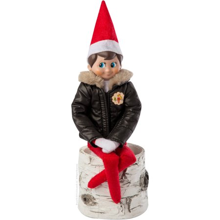 Elf on the Shelf Claus Couture Collection Puffy North Pole Parka