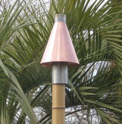 Copper Cone Series Automated Tiki Torch NG by