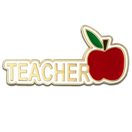 Recognition Gifts (PinMart's Teacher Red Apple Appreciation Gift Recognition Lapel Pin)