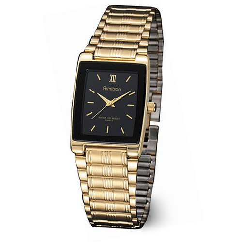 Armitron Men's Gold-Tone Stainless Steel Watch