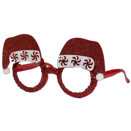 Christmas Bling - Santa\'s Holiday Frames Lensless Glasses - Santa ...