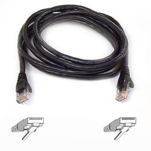 """Belkin Cat6 Cable - RJ-45 Male - RJ-45 Male - 12"""" - Red"""