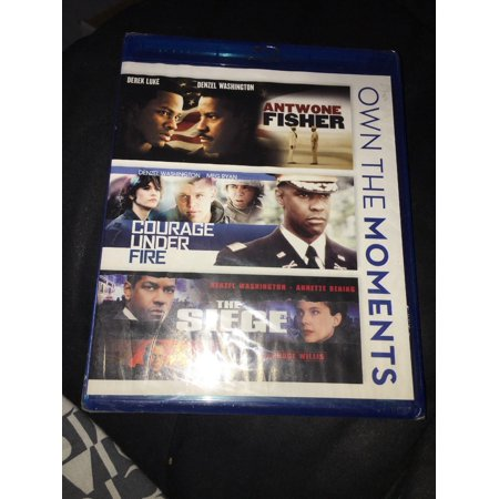 - New Denzel Collection Antwone Fisher - Courage Under Fire - The Siege on Blu-Ray