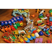 Canvas Print Toy Plastic Toys Children Toys Toys Plastic Stretched Canvas 10 x 14