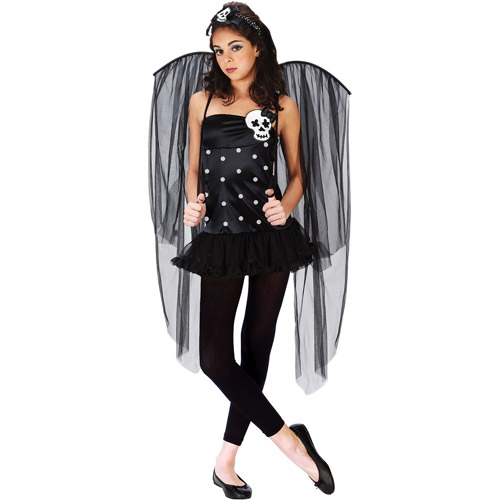 Skull Fairy Teen Halloween Costume
