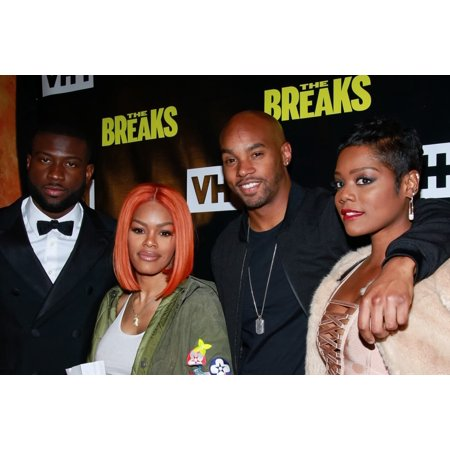 Sinqua Walls Teyana Taylor Antoine Harris Afton Williamson At Arrivals For Vh1S The Breaks Series Premiere Party Roxy Hotel New York Ny February 15 2017 Photo By Jason MendezEverett Collection